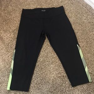 CK performance quick dry work out pants.